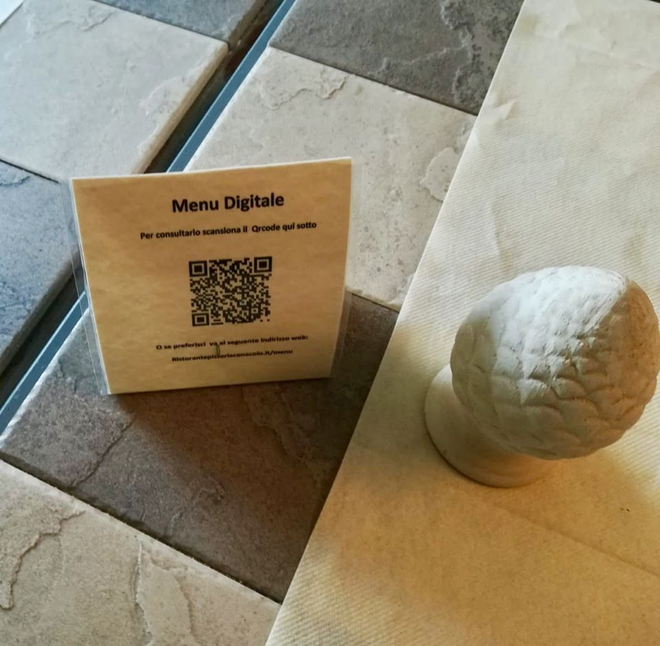 menu digitale